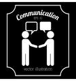 communication icon vector image