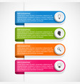 infographic template for business presentations vector image vector image