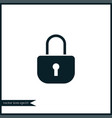lock icon simple vector image vector image