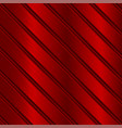 red metal texture with diagonal planks vector image vector image