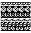 Seamless tribal pattern design