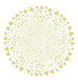 wine glass centrifugal rotation vector image