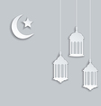 arabic background for ramadan kareem vector image vector image