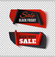 black friday sale two abstract banners on vector image vector image