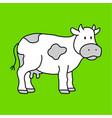 cowcartoon cowcow drawingcow cartooncow vector image vector image