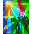 dance paty vector image vector image