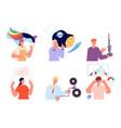 mental mindset types human emotions different vector image