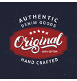 Original hand written lettering for label badge vector image vector image