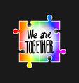 world autism awareness day april 2 2017 vector image