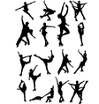 6213 figure skating vector image vector image