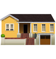 A residential property vector image vector image