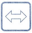 exchange horizontal fabric textured icon vector image vector image