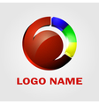 Business Abstract Circle icon Media Technology vector image