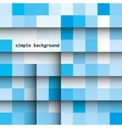 abstract colored squares on a light background vector image vector image
