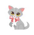 animal pet - cute cat vector image vector image