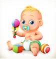 baand toys 3d icon vector image vector image