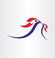 birds feed symbol design vector image vector image