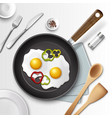 Eggs for breakfast vector image