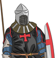 knight 5 vector image vector image