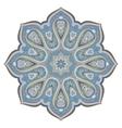 Ornate eastern mandala vector image vector image
