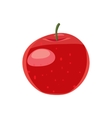 Red apple icon cartoon style vector image vector image