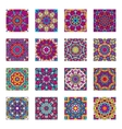 Set of ethnic patterns vector image vector image