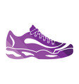 tennis sneaker icon vector image
