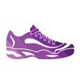 tennis sneaker icon vector image vector image