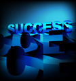 abstract success background vector image vector image