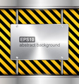 abstract technology background with metallic vector image