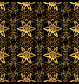 damask seamless pattern for design seamless vector image