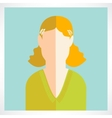 flat women icons vector image