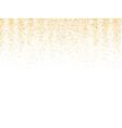 gold glitter texture golden shiny sparkles on vector image