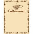 menu simply vector image