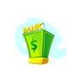 Money Bank concept design vector image vector image
