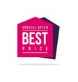 off discount sticker price label sticker vector image