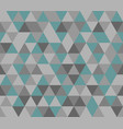 tile background with grey and mint green triangle vector image
