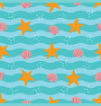 tropical beach trendy seamless pattern background vector image vector image