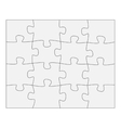 Template paper for thinking puzzles games vector image