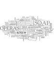 A deep look into soap operas text word cloud