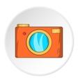 Camera icon cartoon style vector image vector image