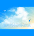 horizontal background with realistic beige vector image vector image