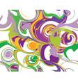 mardi gras seamless line marble pattern vector image
