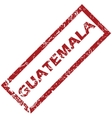 New Guatemala rubber stamp vector image