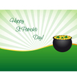 Saint Patricks day wallpaper vector image