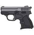 small handgun vector image vector image