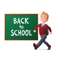 Back to school Proud and vector image