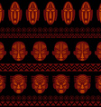 African Tribal Pattern Ethnic ornament vector image