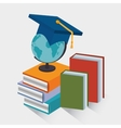 eLearning and technology education vector image