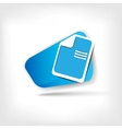 File web icon vector image